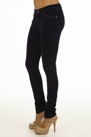 Brazilian Moleton Jean Zip Jeggings