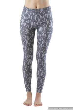 Mini Skulls Plus Size Ankle Leggings