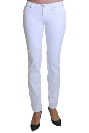 Snowfall Colored Denim Skinny Jeans