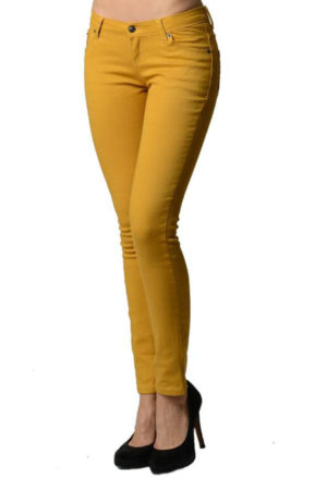 Mustard Colored Skinny Jeans
