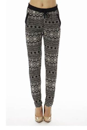 Tribal Print Jogging Pants