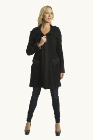 Cozy wool coat from Premise Paris