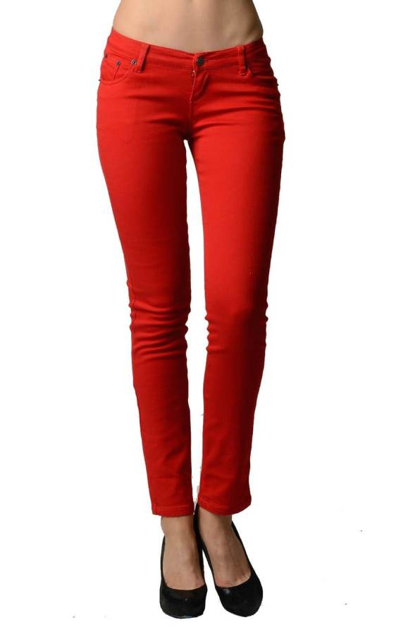 Skinny Red Jeans