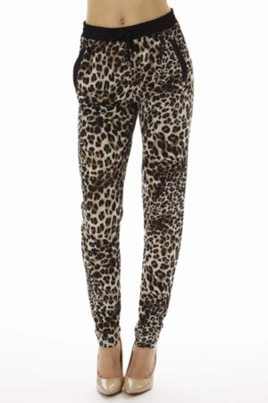 Into The Wild Leopard Joggers