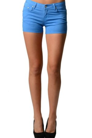 Trendy Blue Neon Shorts