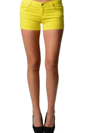 Bright Yellow Neon Shorts