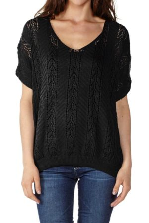 Black Knited Pullover