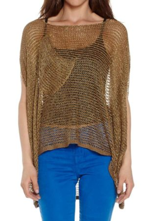 Freeform Mesh Top Brown