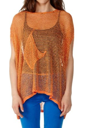 Freeform Mesh Top Orange