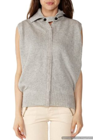 Light Grey Sleeveless Tunic