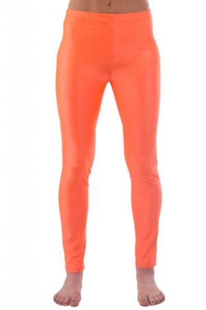 Orange Yoga Leggings