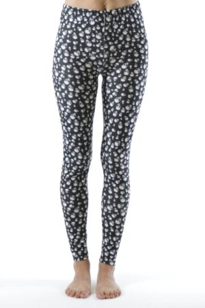 Mini Skulls Ankle Length Leggings