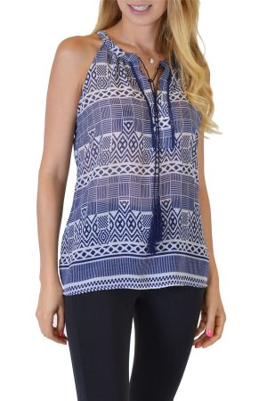 Blue Anil Tank Top