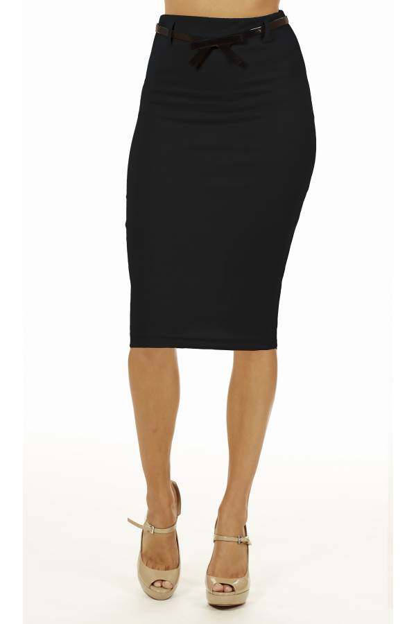 black below knee pencil skirt fashion outlet nyc