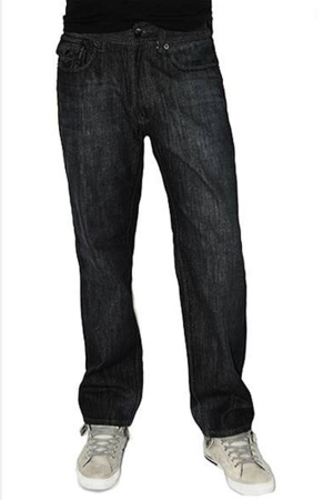 Black Denim Boot Cut Jeans