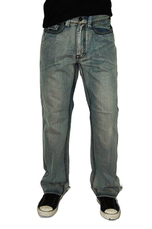 Grey Denim boot Cut Jeans