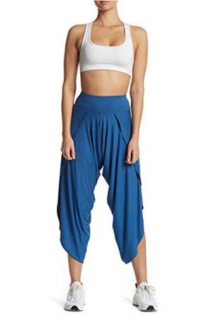 Dinamit Jeans Women's Wide Leg Capri Yoga Gaucho Pants
